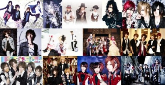 "Visual Kei y Anime ""V-Anime Rocks Evolution""."